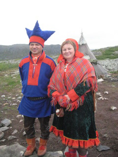 Sami natives, Finnmark, Norway, Nancy D. Brown, travel