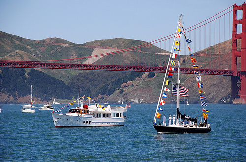 Things to see and do in sausalito california nancy d brown for Wine therapy boat sf
