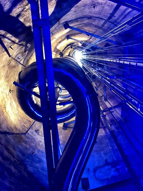 the slidie graz is the tallest underground slide in the world