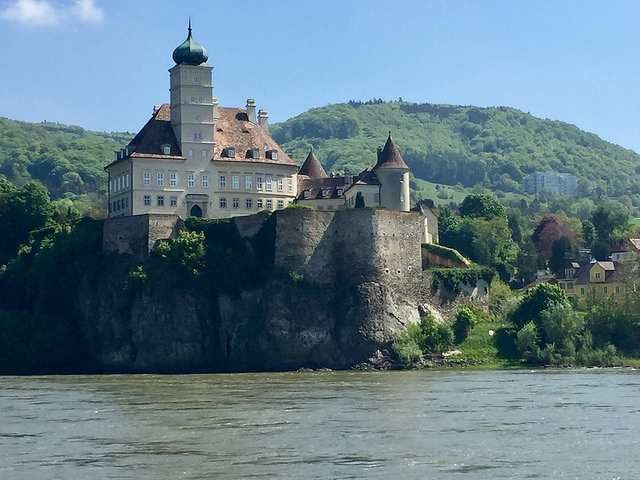 schonbuhel castle, wachau valley, austria, danube river, amawaterways, river cruise