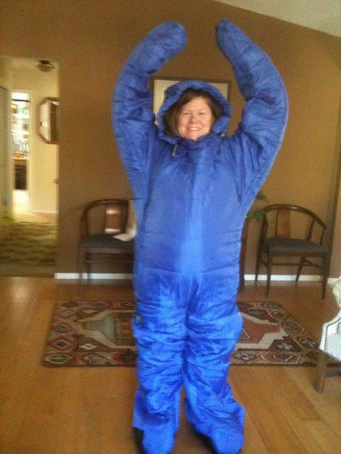 nancy d brown, selk bag, sleeping bag, travel gear,