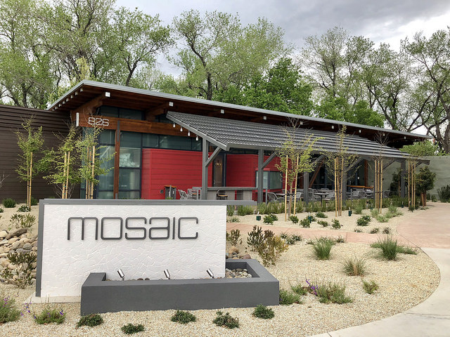 mosaic restaurant, sheraton redding hotel at the sundial bridge, redding, california