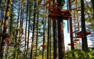 skamania lodge aerial park, stevenson, washington