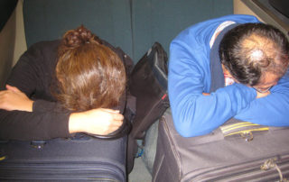 sleep, travel, exhausted travelers, bay area rapid transit, bart train passengers