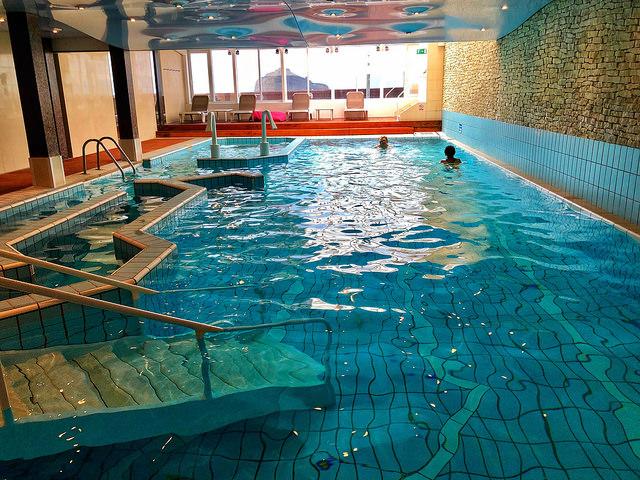 indoor pool, sofitel biarritz le miramar thallasa se and spa hotel, biarritz, france