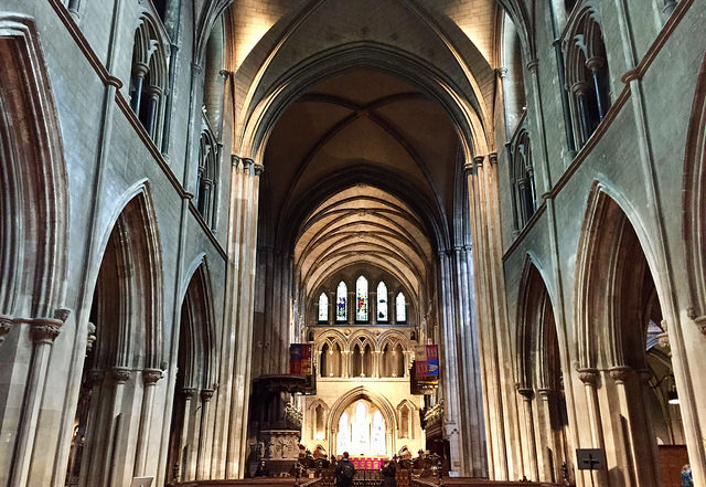 St. Patrick's Cathedral interior in Dublin640x480