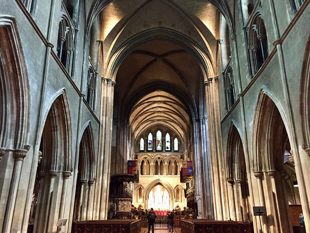 st patricks cathedral, largest church in ireland, dublin, ireland, things to see in dublin