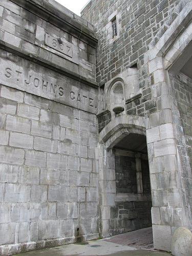 """St. John's Gate"", Quebec, Canada"