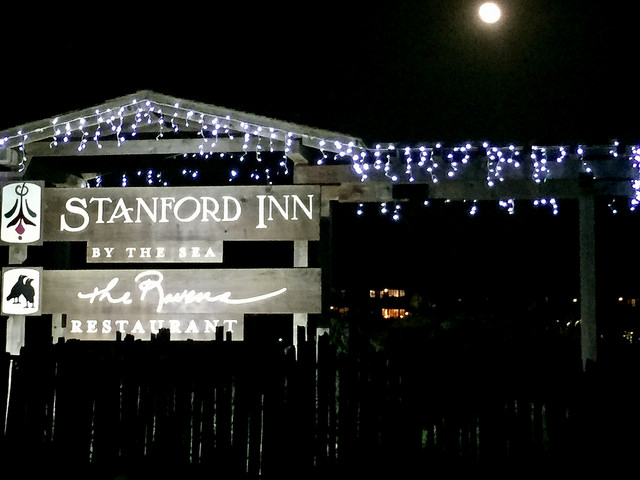 stanford inn by the sea, eco resort, bed & breakfast, mendocino, california