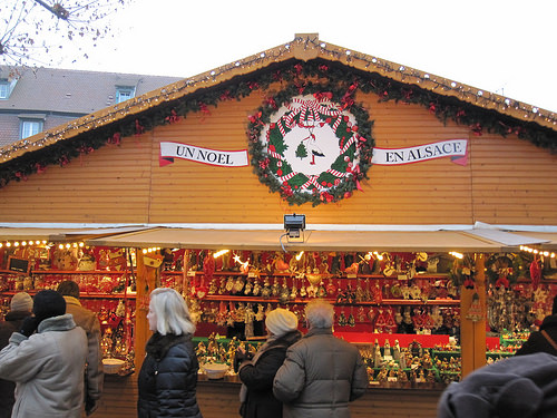 """Strasbourg"" Germany, Christmas Market"