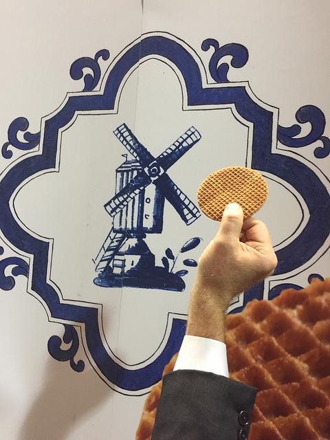 stroopwafel, food in the air, dutch snack, fancy food show