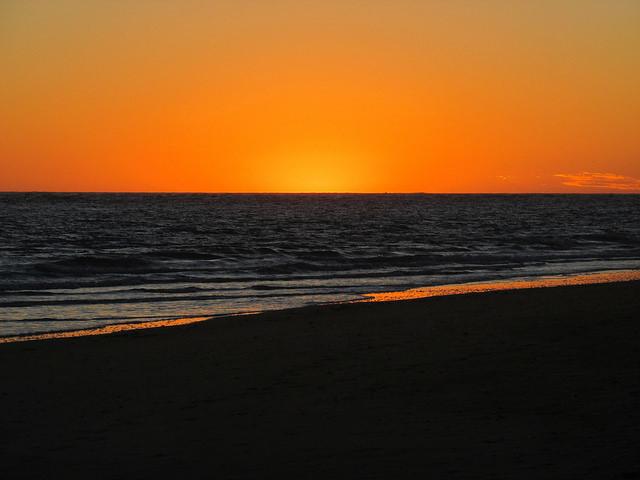 sunset, baja california sur, mexico