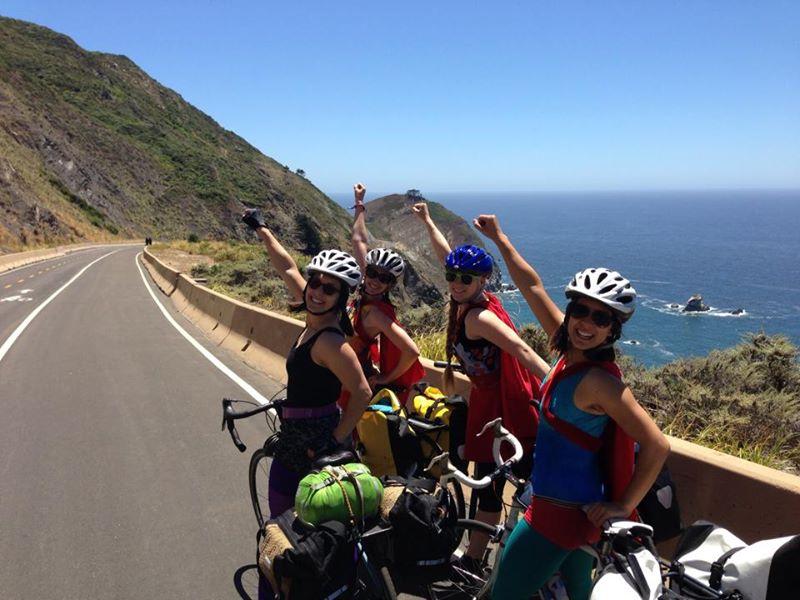 Warm Showers And Superhero Bike Rides Nancy D Brown