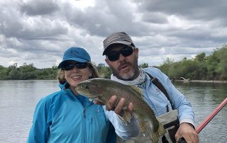 nancy d brown, shane kohlbeck, fly fishing, the fly shop, lower sacramento river, redding, california, trout