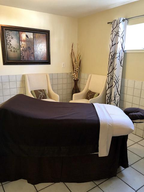spa at eurospa, massage table spa eurospa, unique calistoga bed and breakfast
