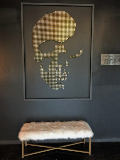 The Time Nyack, edgy art, nyack new york hotel