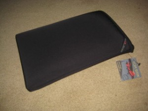 Tom Bihn, Laptop Sleeve, Cache, Travel Gear Review, Nancy D. Brown