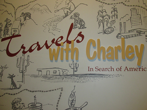 """Travels with Charley"" ""Steinbeck Center"""
