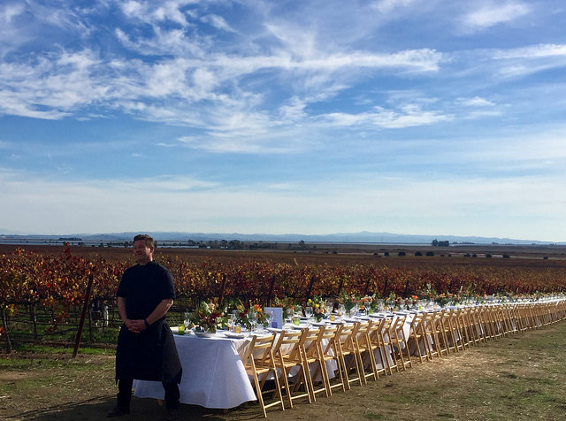 chef tyler florence, napa, california wine country, the grateful table