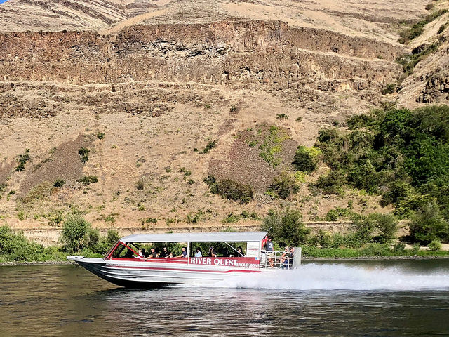 small ship cruise, river quest excursions, hells canyon jet boat, snake river, rivers of adventure, eastern washington