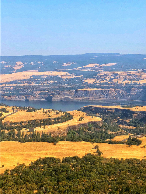 rowent plateau, columbia gorge, the dalles oregon, small ship cruise, uncruise rivers of adventure