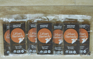 the bar, urban remedy, healthy travel snack, protein bar