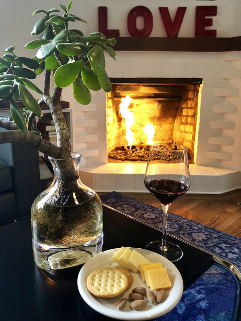 wine and cheese, happy hour vagabond's house, carmel inn by the sea, carmel boutique bed and breakfast