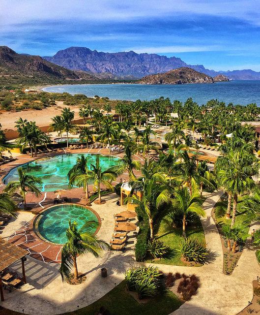 villa del palmar, sea of cortez, pool, loreto, mexico