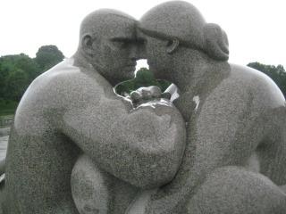 Vigeland Sculpture Garden, Oslo, Norway, Nancy D. Brown, travel