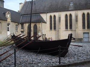 Viking Ship, Bayeux Trapestry Museum, travel, France