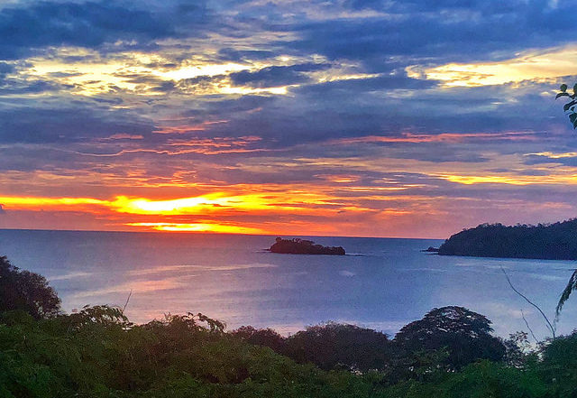 villas catalina sunset, portrero sunset, guanacaste sunset, costa rica sunset