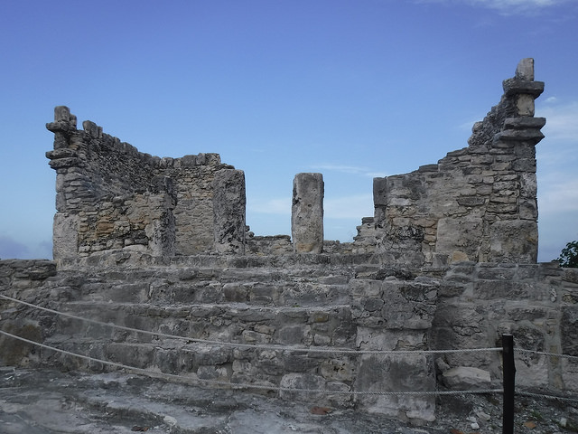 mayan ruin, yamil luum, westin lagunamar resort, quintana roo, cancun, mexico
