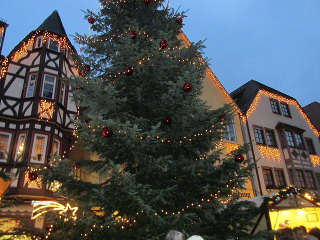 wertheim, christmas, germany