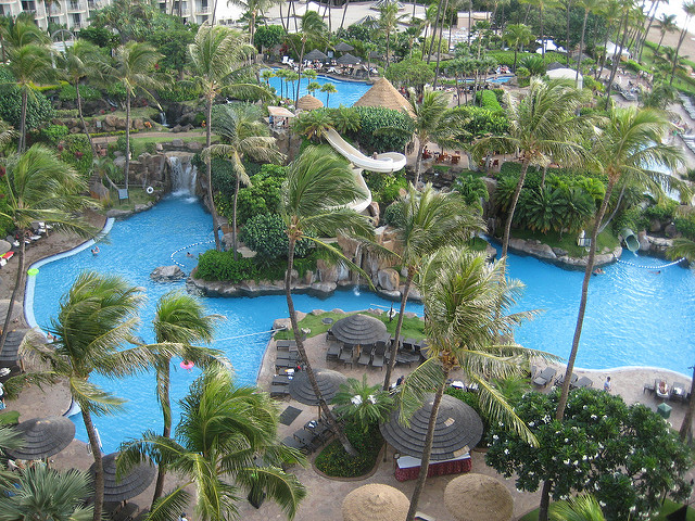westin maui waterslide, things to see and do in maui, westin maui resort & spakaanapali