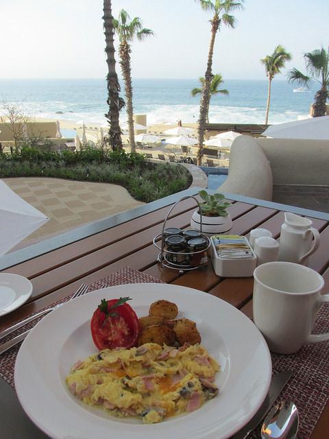 scrambled eggs, cocina casera, westin los cabos, mexico