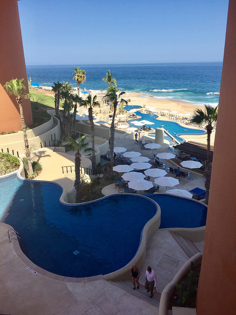 swimming pool, infinity pool, sea of cortez, westin los cabos, los cabos, mexico
