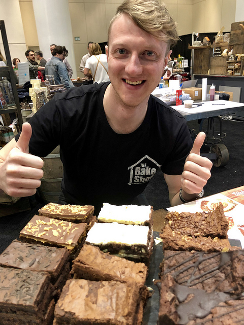 will rhys-davies, the brownie man, the bake shed, 7 healthy travel snacks