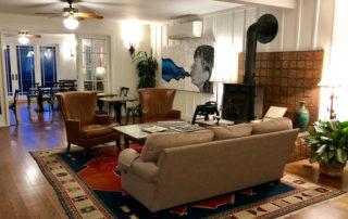 lobby, wine country inn, saint helena, napa valley, california bed and breakfast