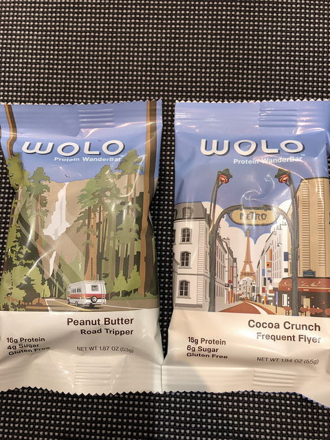 wolo protein wander bar, 7 healthy travel snacks, protein bar for travel