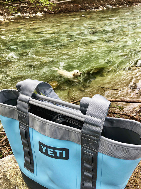 yeti camino carryall bag, summer travel gear review, yeti camino carryall tote bag, travel gear review, big sur river