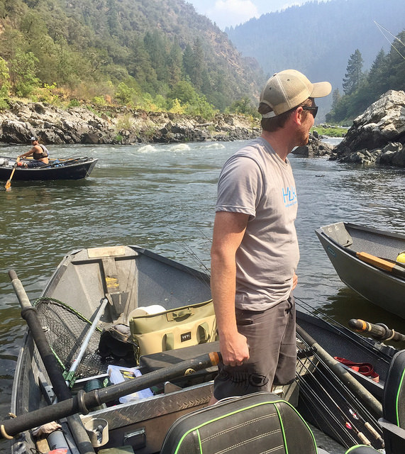 zach hancock, rogue river, yeti hopper two cooler, southern oregon fishing