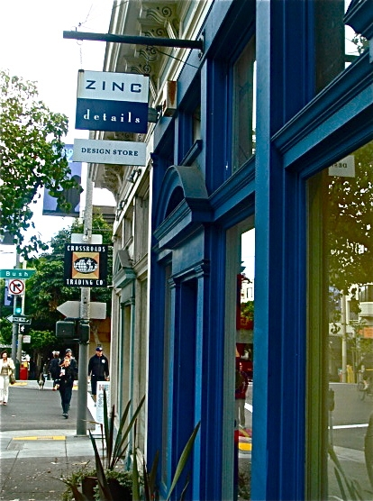 Zinc, San Francisco, Pacific Heights, travel, shop