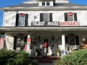 Talbot House Antiques chock-full of Americana
