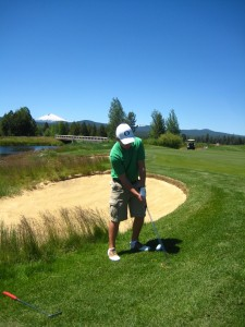 crosswater golf course, 8th hole, sunriver, oregon, golf