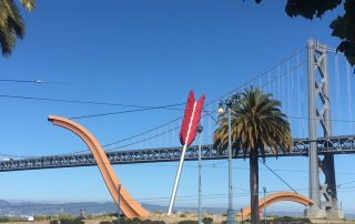 Public Art in San Francisco, CA, photo of Cupid's Span