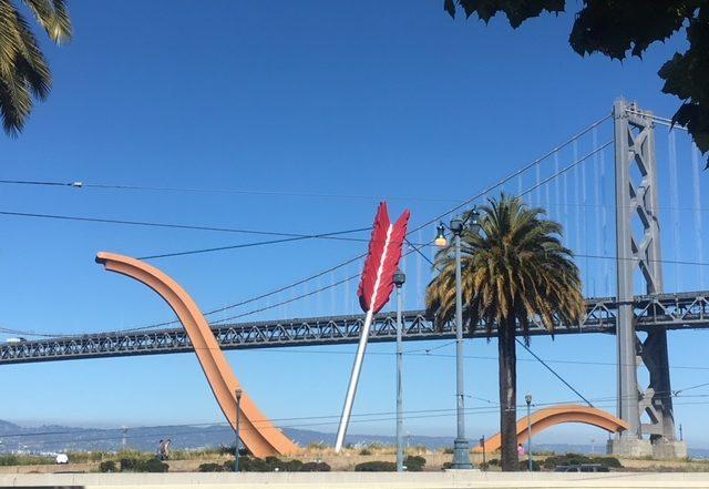 Public Art in San Francisco, CA, photo of Cupid's Span