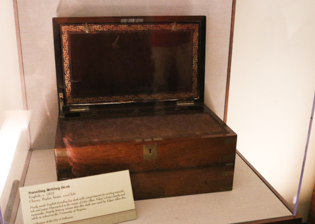 Edgar Allan Poe Writing desk