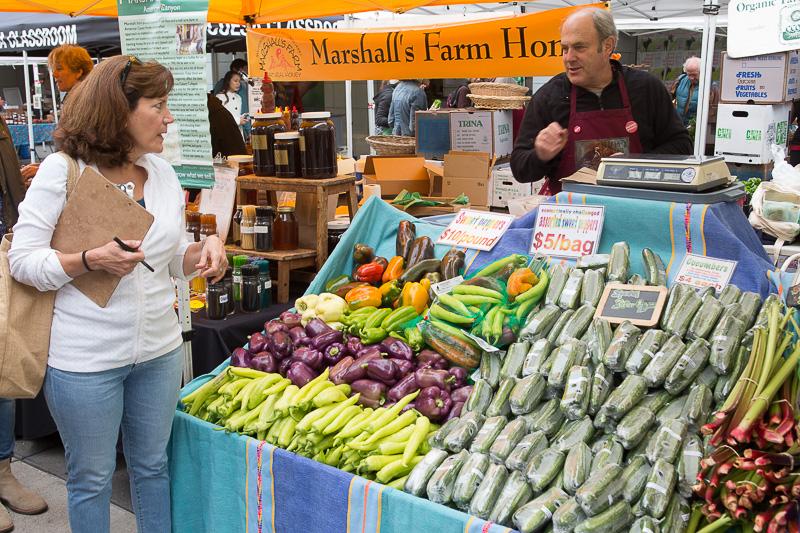 Produce, Marshall Farms, Ferry Building, Farmers' Market, San Francisco