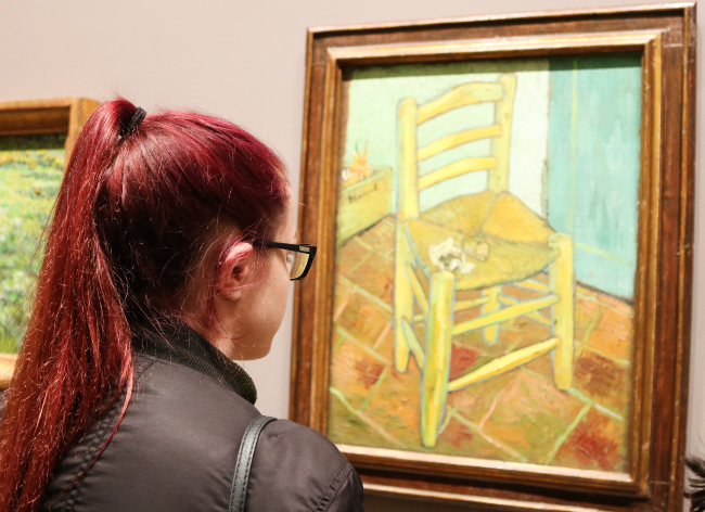 Van Gogh's painting of a chair