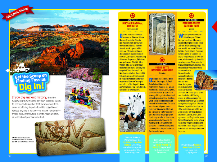 national geographic fossil page
